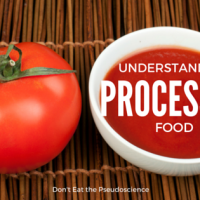 Understanding Processed Food